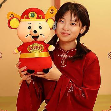 9.4inch LIGONG Rat Mascot Doll 2020 Chinese New Year Mouse Zodiac Mascot Dolls