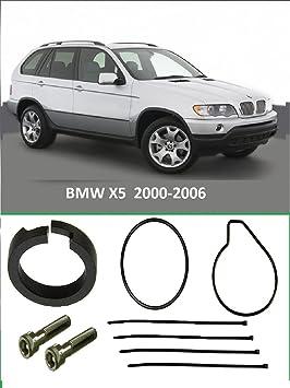 BMW X5, E53 2000 - 2006 Compresor WABCO Suspensión aire pistón anillo reparar Kit: Amazon.es: Coche y moto