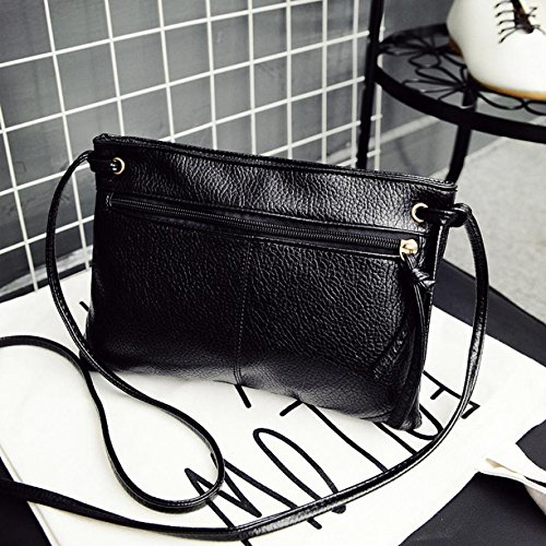 JD Million shop Fashion PU Leather Zipper Women Bag Small Shoulder Handbag Tote Lady Purse 15S70106 drop shipping