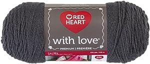 Red Heart E400.1401 Love Yarn