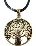pendentif arbre de vie bronze sante celte breton druide elfe irlande