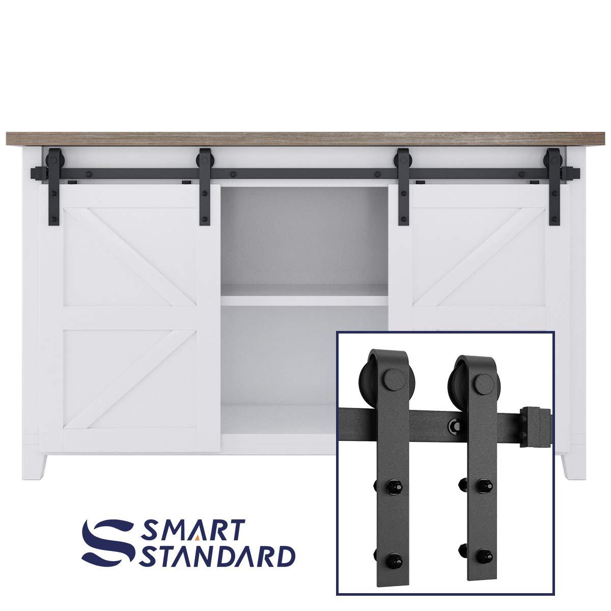 Amazon Smartstandard 5ft Mini Sliding Barn Door Hardware Kit