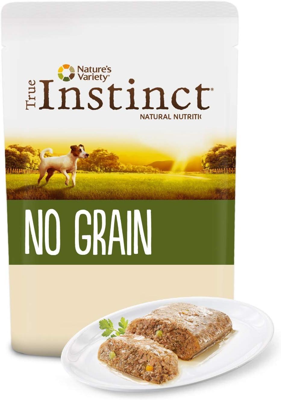 True Instinct No Grain - Nature's Variety - Mini Paté sin Cereales de Pollo para Perros 150 gr - Pack de 8