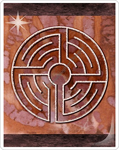 Finger Labyrinth Laminated Card 6-Pack 2: Focus Tools for Stress, Anxiety, PTSD, ADHD & Autism by Mandalynths (Image #3)