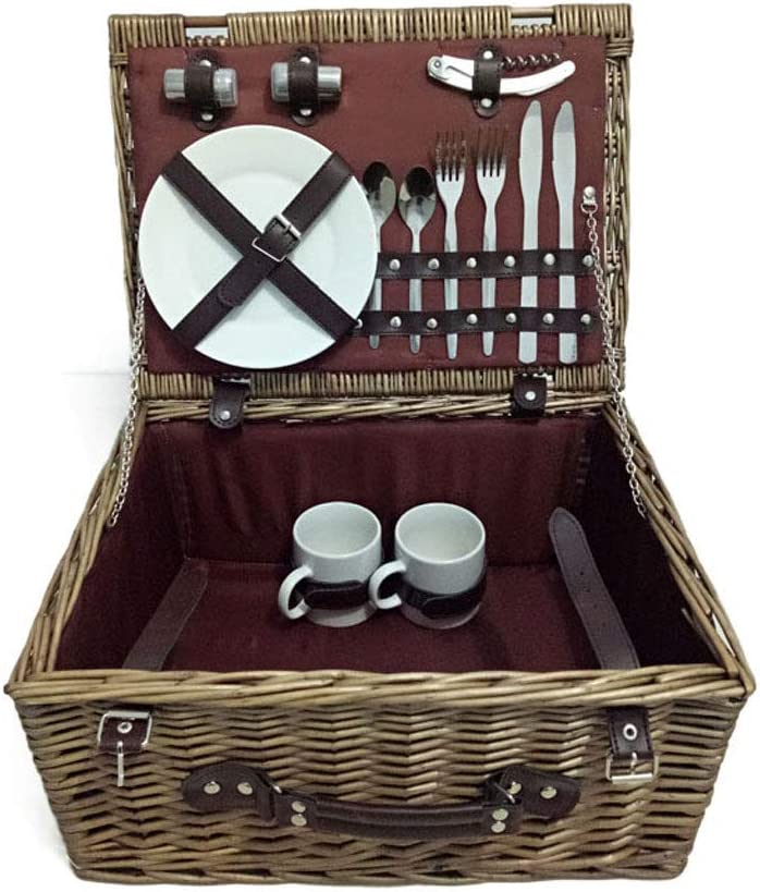 Cesta de picnic multifunción canasta de almacenamiento de ...