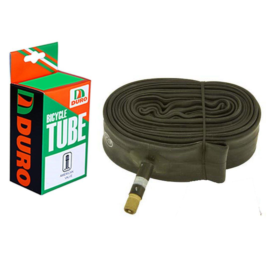 Duro Bicycle Inner Tube 700 x 35c//43c Standard American//Valve . 33mm