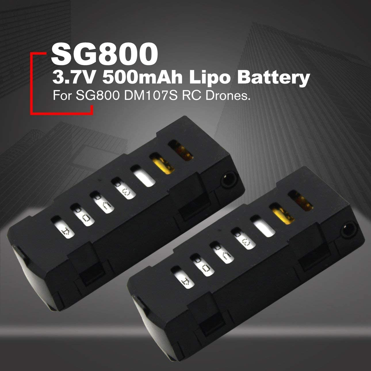 RCTOYCO 500mAh 3.7V Lipo Battery Helicopter Accessories For SG800 RC Drones