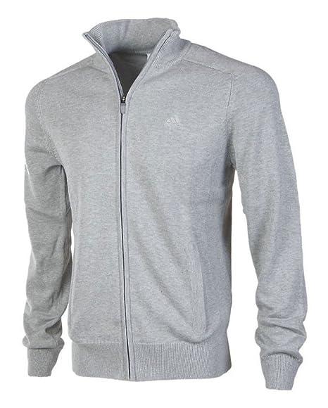 Adidas Herren FZ Jumper Strickjacke Strick Jacke Cardigan