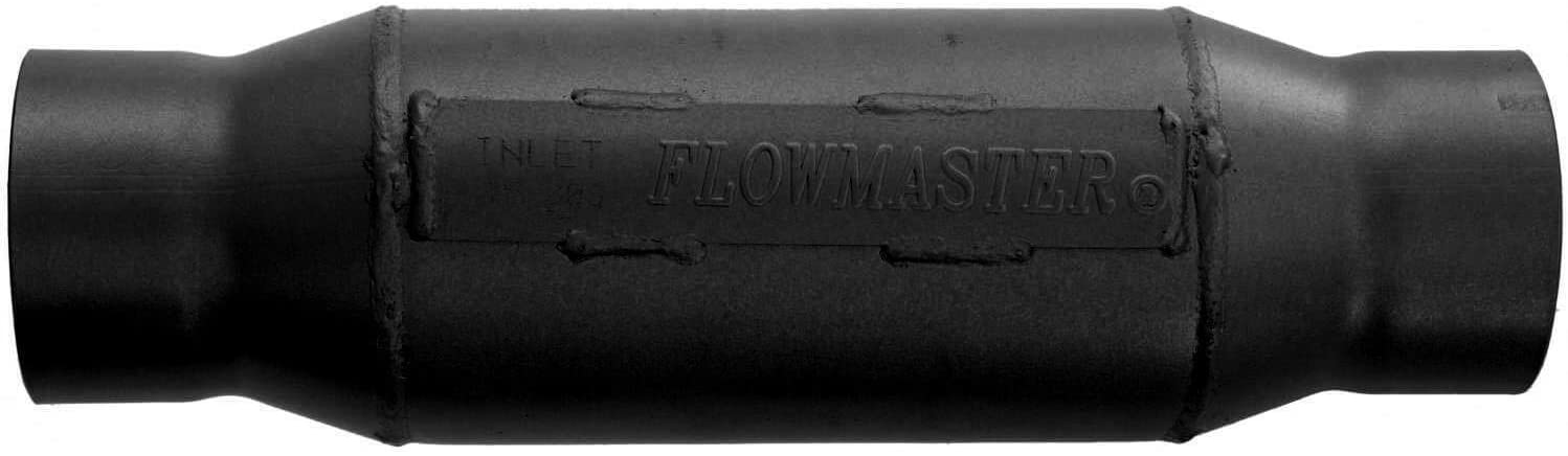 Flowmaster 15430S Outlaw Series Race Muffler - short - 3.00 Center IN / 3.00 Center OUT-Aggressive