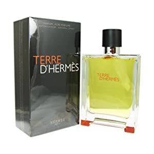 Hermes Terre D'hermes Pure Perfume for Men, 6.7 Ounce