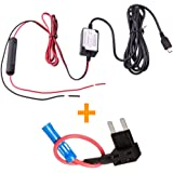 Spy Tec Mini USB Dash Cam 10 Foot Hardwire and Fuse Kit for A119 A119S G1W G1WS