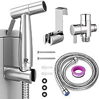 Roccar Handheld Bidet Sprayer for Toilet, Spray Attachment with Hose for Feminine Wash, Baby Cloth Diaper Washer…