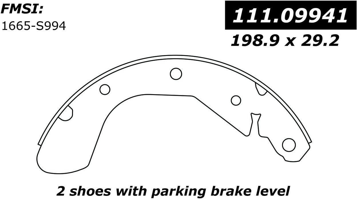 Centric 111.09941 Brake Shoe