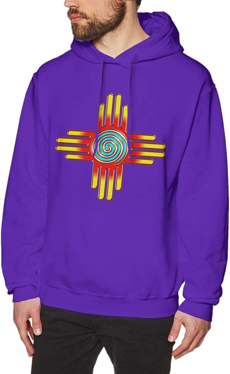 Eplus Zia Sun Zia Pueblo New Mexico Cute Sweatshirt Mens Pullover Sweatshirt Print Hoodie