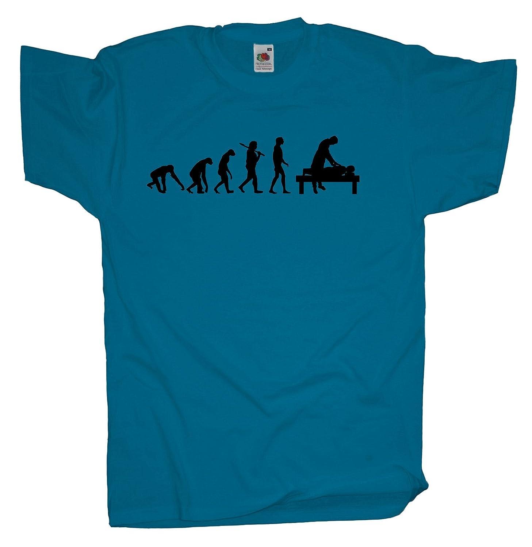 Ma2ca - Evolution - Masseur - Herren T-Shirt | Massage: Amazon.de:  Bekleidung
