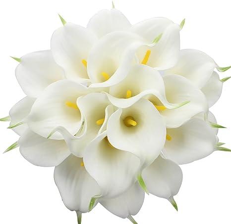Ganz und zu Extrem Justoyou Künstliche Blumen. 20Stück, Latex #NA_34
