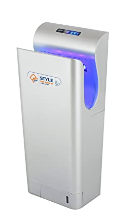 Secador de manos con filtro HEPA, UV de esterilización. y un seco suelo Sistema