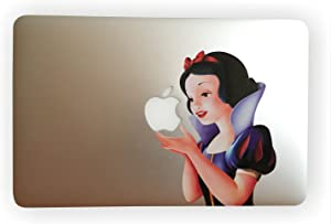 "EppoBrand Snow White Holding Apple MacBook 11"" 12"" 13"" Inch Retina Vinyl Decal Sticker with Anti-Scratch Anti-Fading Coating"