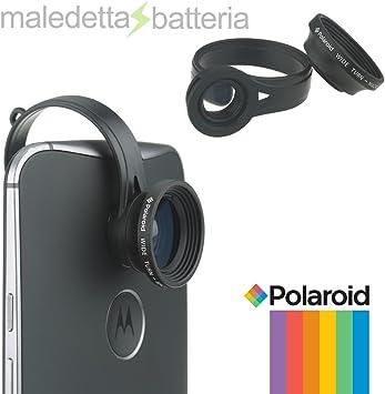 Lupa 2 en 1 Objetivo gran angular, 130° para smartphone-POLAROID ...