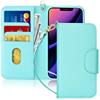 FYY Case for iPhone 11, [Kickstand Feature] Luxury PU Leather Wallet Case Flip Folio Cover with [Card Slots] and [Note…