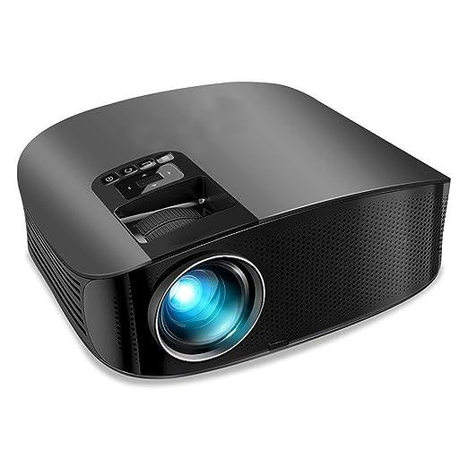 MKYYLV Proyector Mini Portátil WiFi Proyector de Cine en Casa 3200 ...