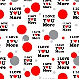 I Love You More with Heart Premium Gift Wrap Wrapping Paper Roll