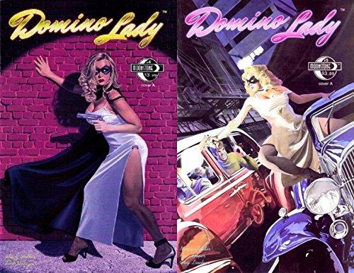 (Domino Lady #4-5 (2009-2010) Limited Series Moonstone Comics - 2 Comics)