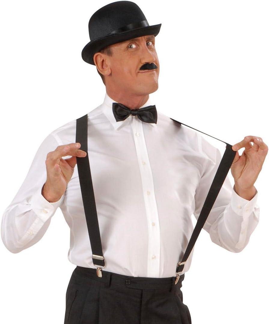 Tirantes para hombre negro para Carnaval tipo tirantes accesorios de vestuario accesorios Fasnet Fasnacht: Amazon.es: Juguetes y juegos