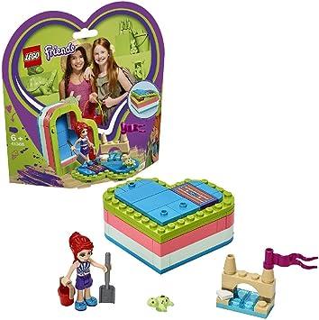 LEGO Friends - Caja Corazón de Verano de Mía, Juguete con Mini Muñeca de Construcción para Niñas y Niños a Partir de 6 Años, Incluye Figura de Tortuga (41388): Amazon.es: Juguetes y juegos