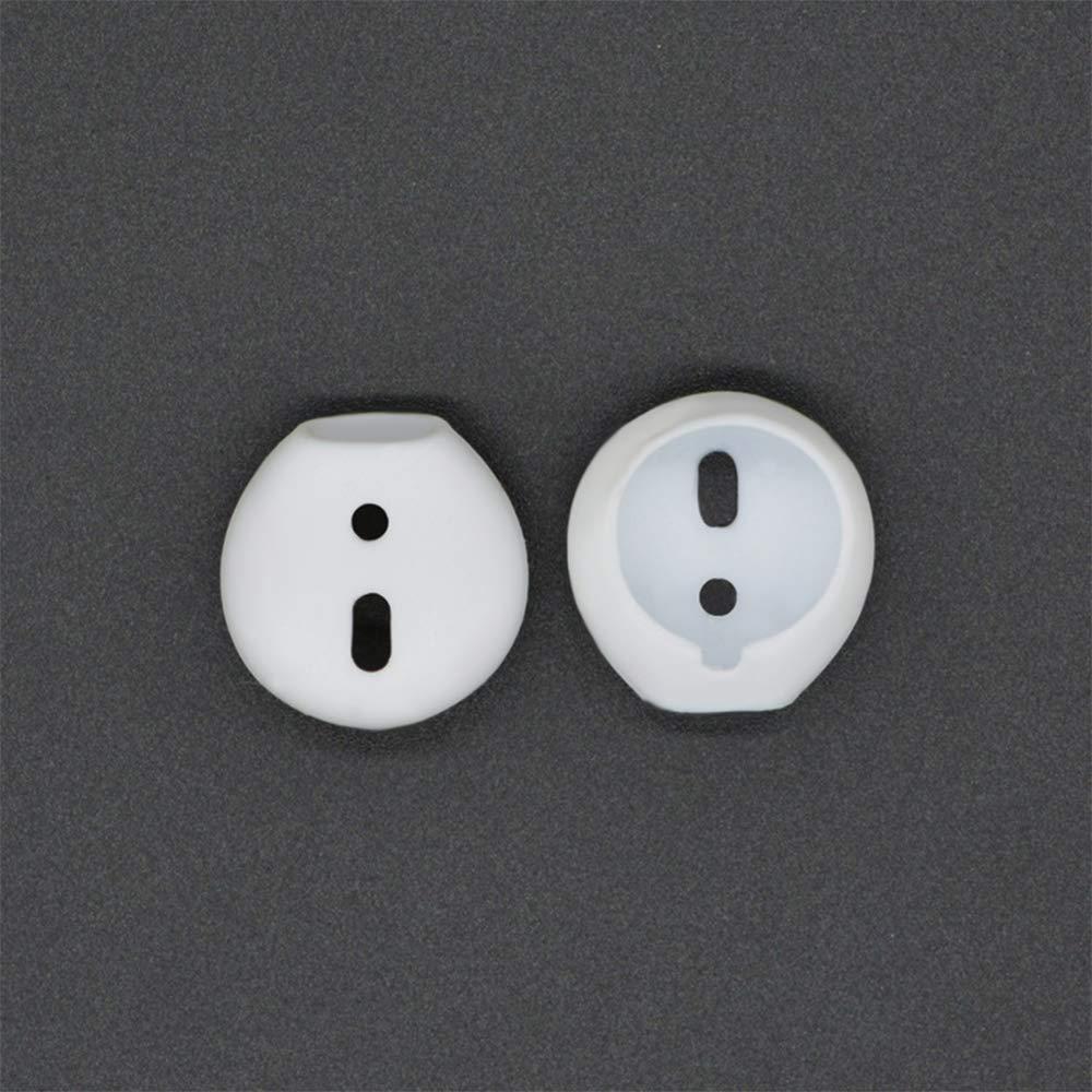 Almohadillas de Silicona Antideslizantes para Auriculares Apple Bluetooth Airpods VEVICE 1 par