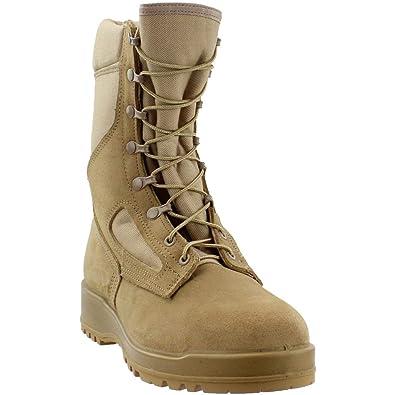 215792ded209 Amazon.com  Belleville Men s Hot Weather Steel Toe Flight Boot  Shoes