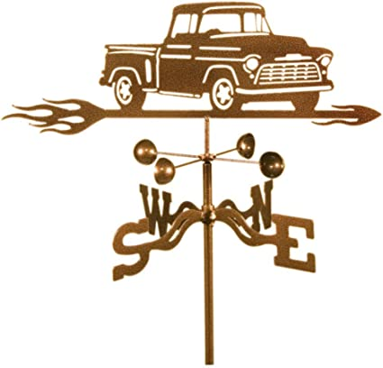 SWEN Products Farrell Series CHEVY TRUCK AUTO CAR Steel Weathervane