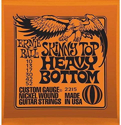 3 Pack | Ernie Ball Guitar Strings | Skinny Top, Heavy Bottom | Electric | 10-52