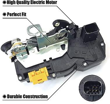 Front Left Door Lock Actuator Motor For 2008-2014 Cadillac CTS 2009 2010 Dorman