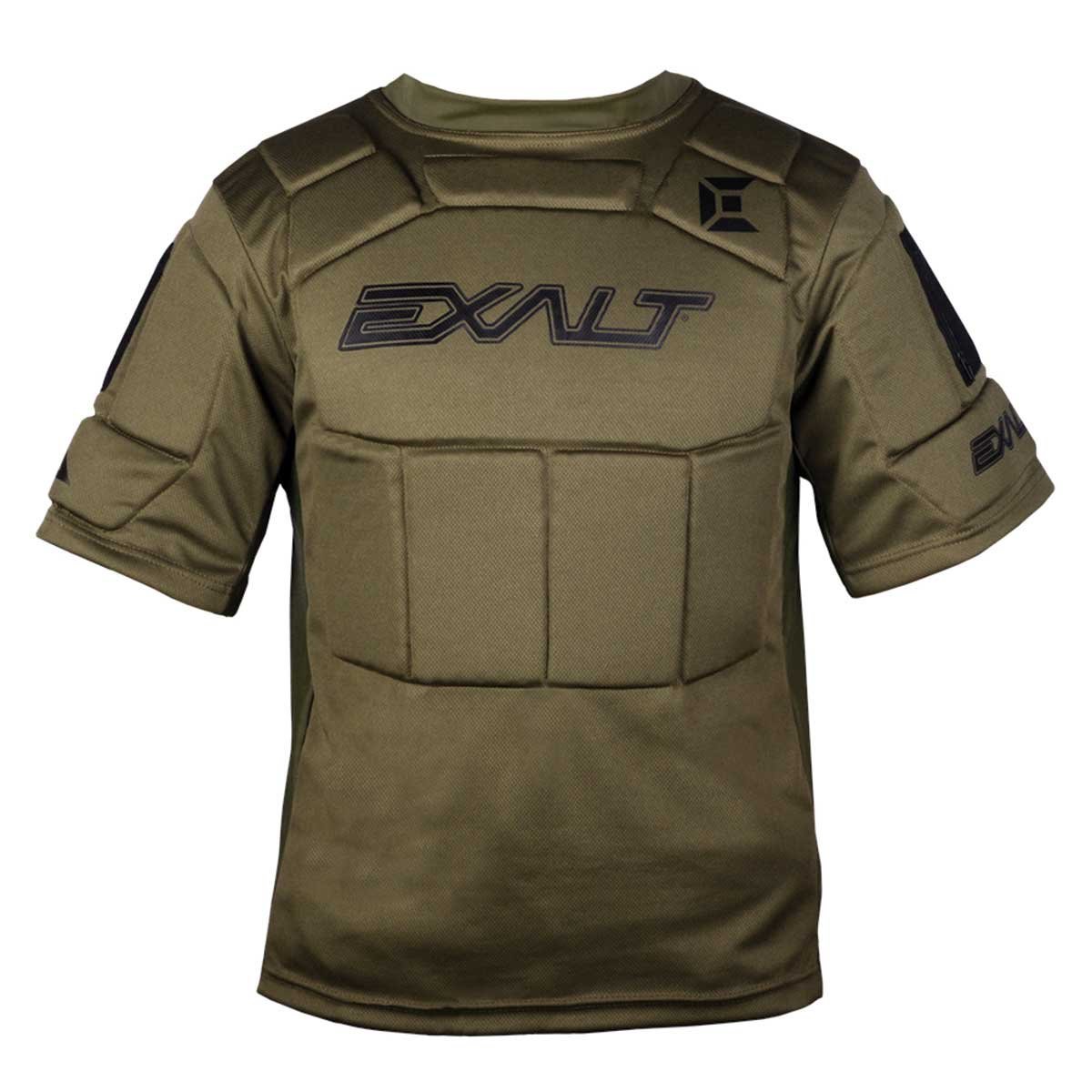 Exalt Paintball Alpha Chest Protector - Olive - L/XL by Exalt