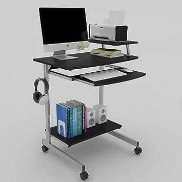 Mesas MAZHONG Computadora Escritorio Oficina Escritorio Escritorio Ordenador PC Computadora portátil Mesa de Trabajo Estación de Juegos Mesa para Ministerio ...