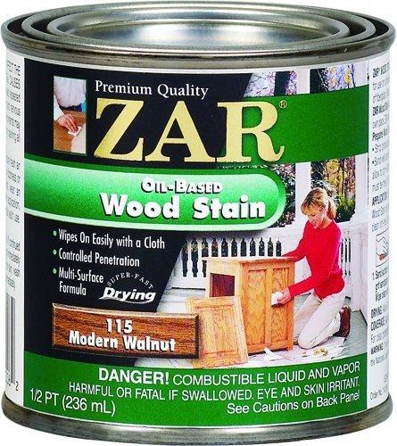 (ZAR 11506 Wood Stain, Modern Walnut by ZAR)