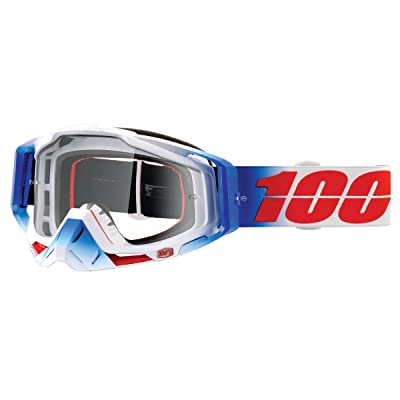 49a0033c4c7eda 100% Racecraft Masque de Vtt Mixte Adulte, Blanc