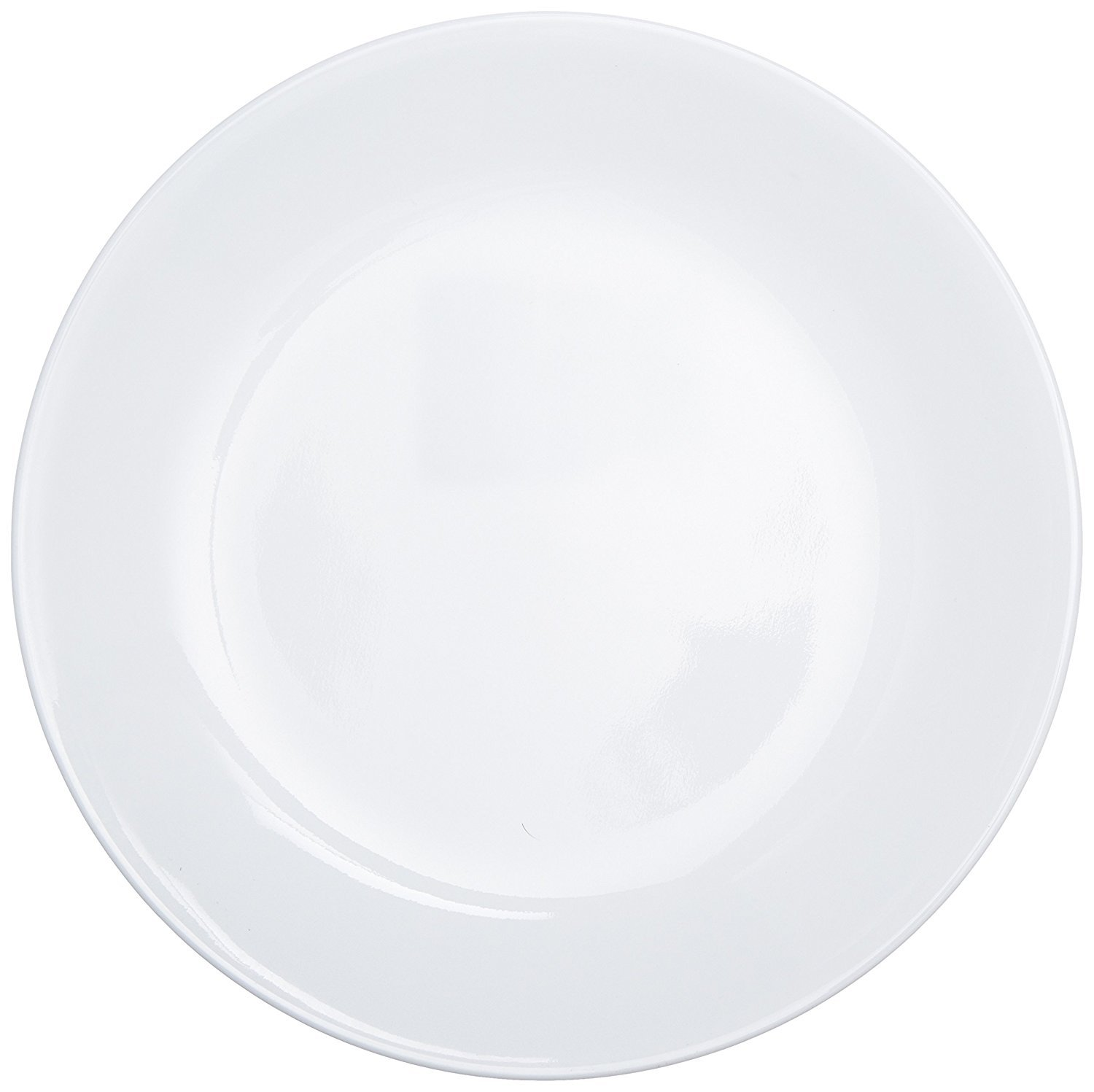 Corelle Livingware Luncheon Plate, Winter Frost White, Size: 8-1/2-Inch, 18-Plates by World Kitchen (Image #1)