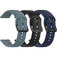 Chofit Strap Compatibel met Popglory bandjes, zachte siliconen sportbanden Quick Release vervanging polsbandarmband…