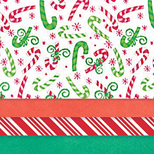 Amscan Christmas Printed Tissue Gift Wrappers, 30 Ct. | Party Accessory