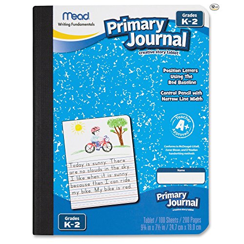 Mead Primary Journal Creative Story Tablet, Grades K-2 ( 12 - Education Materials Journal Of