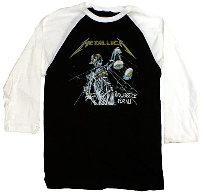 TeeShirtPalace - Camiseta - Unisex de color Multicolore de talla XLarge - TeeShirtPalace Metallica And Justice