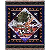 Pure Country Noah's Ark Full Coco Tapestry Throw Blanket