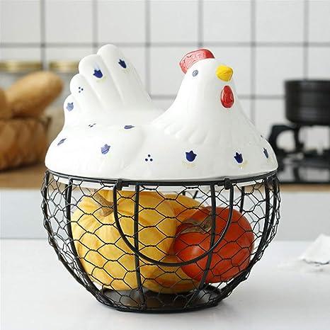 Amazon Black Egg Holder Farmhouse Kitchen Chicken Dcor Metal