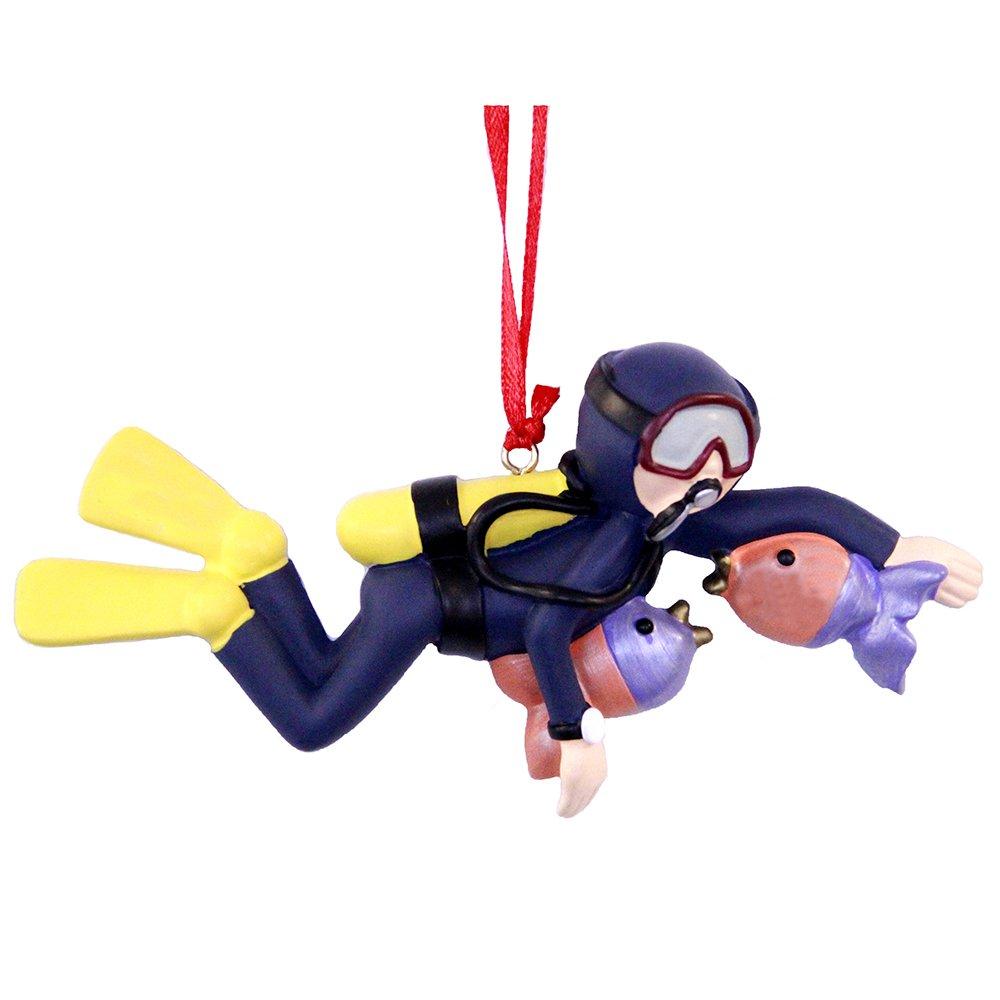 Personalized Scuba Diver Diving Christmas Ornament 2019