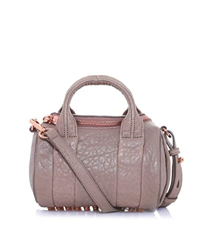 Alexander Wang Women s Mini Rockie Pebbled Leather Bag Latte One Size 844b004d78