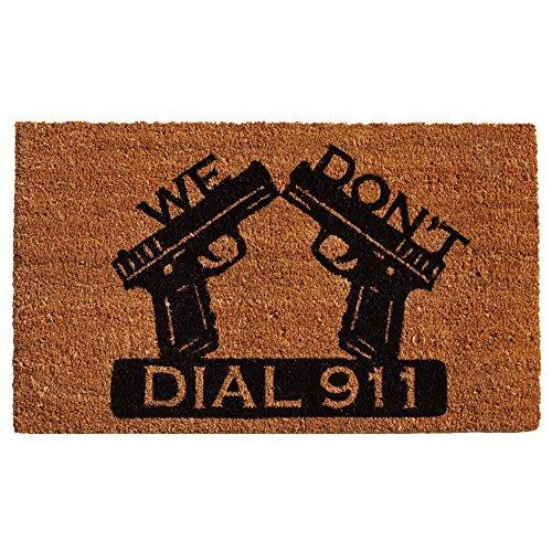 Calloway Mills 121511729 Dial 911 Doormat, 17