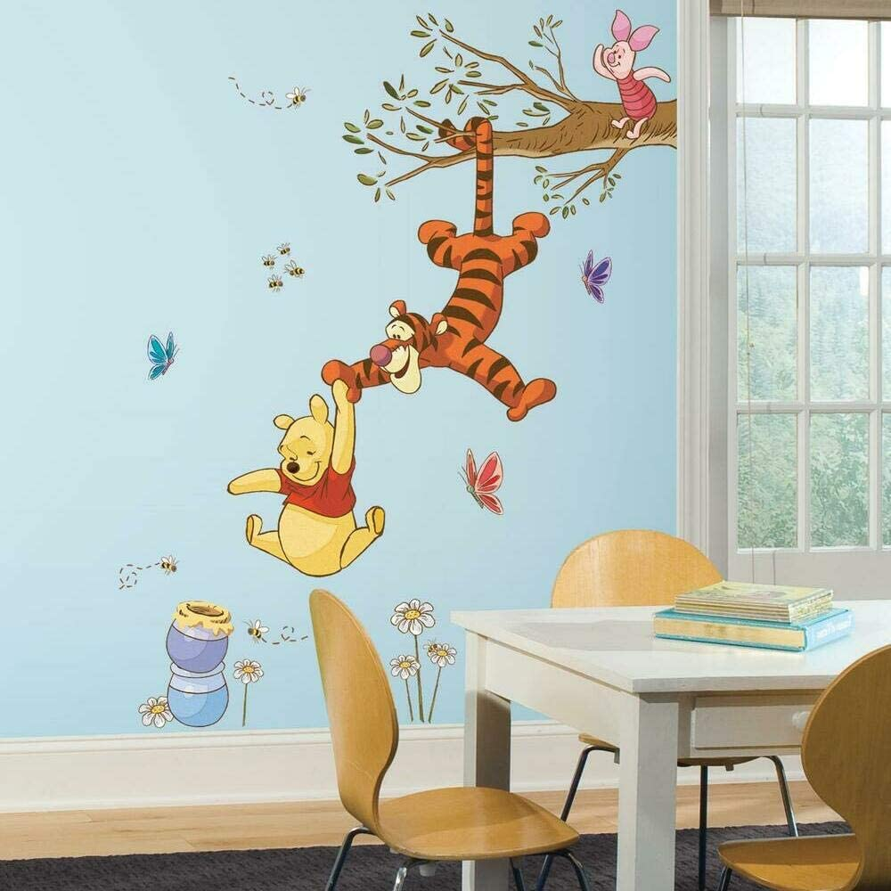 RoomMates RMK2463GM Winnie The Pooh Swinging For Honey Autocolante da muro
