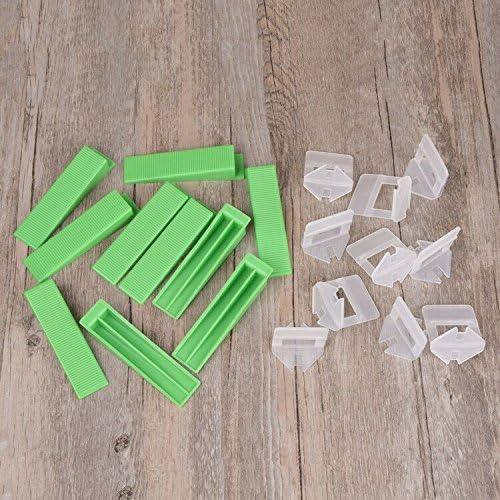 alicates cu/ñas y herramientas de mano Juego de 50 Sistema de Nivelaci/ón de Azulejos reutilizables Azulejos Sistema Nivelador azulejos para localizador